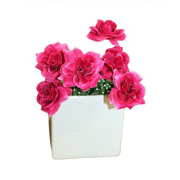 Fuchsia Mini Rose Bunch