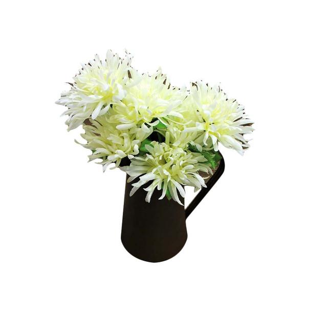 """20"""" Ivory Spider Mum Flower Bunch"""