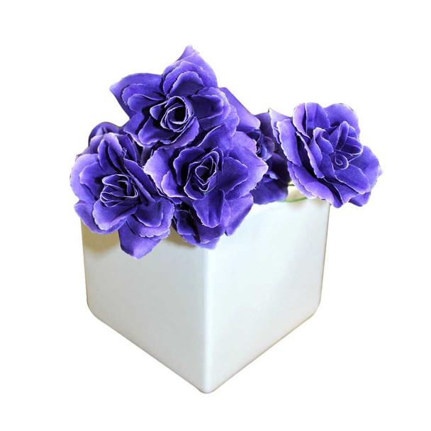 Purple Mini Rose Bunch