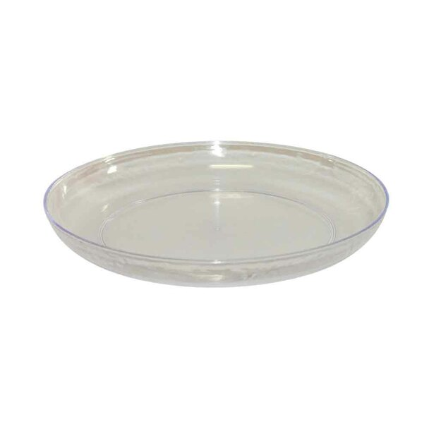 "11"" Clear Lomey  Designer Dish"