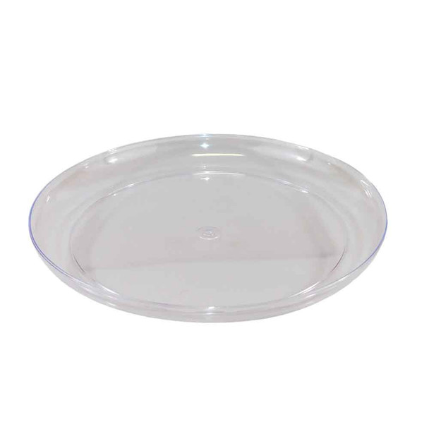"15"" Clear  Designer Dish"