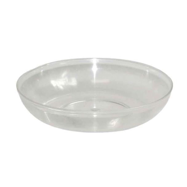 "6"" Clear Lomey Designer Dish"
