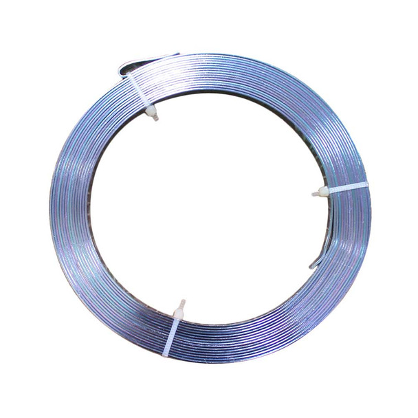 5 MM Gauge Blue Flat Decorative Wire 32.8 Ft