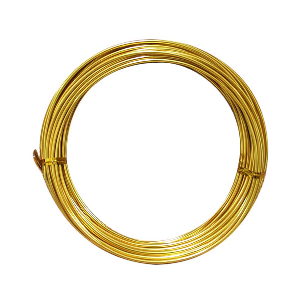 15 Gauge Gold Decorative  Wire 39 Ft