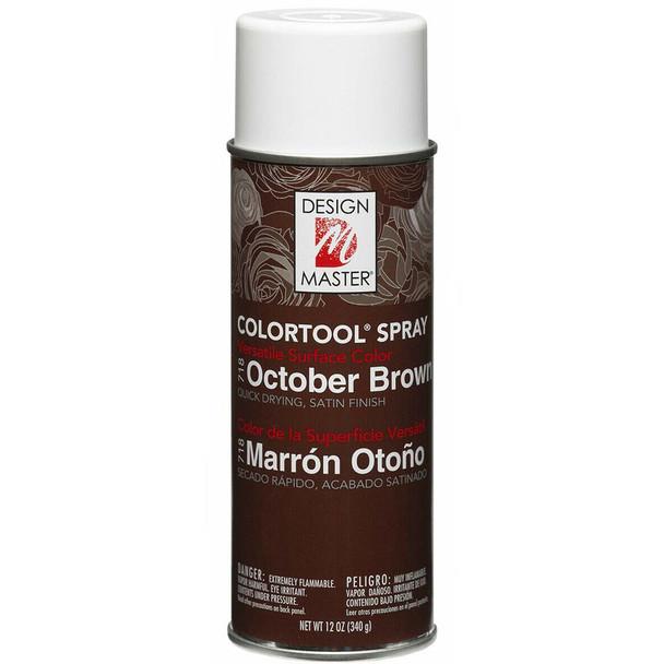 October Brown Color Spray