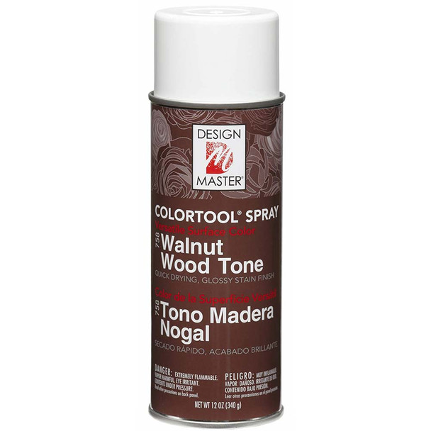Walnut Wood Tone Color Spray