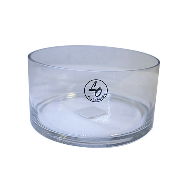 """8"""" Dish Garden Glass Cylinder Vase"""