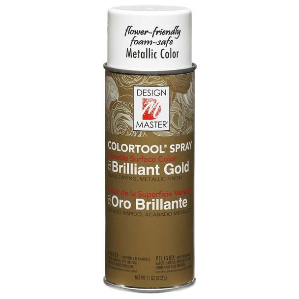 Brilliant Gold Color Spray