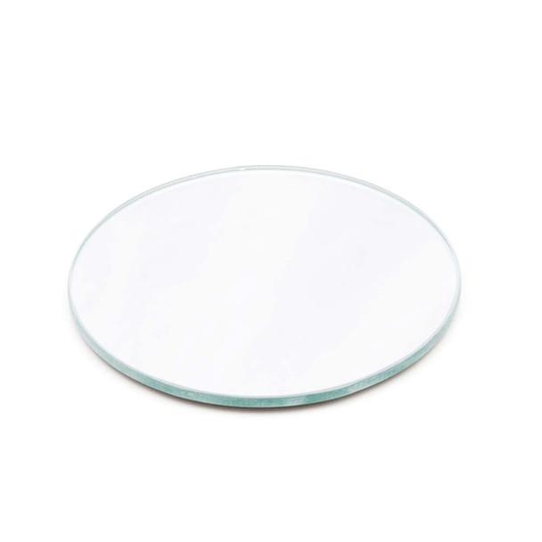 """12"""" Round Mirror Plate"""