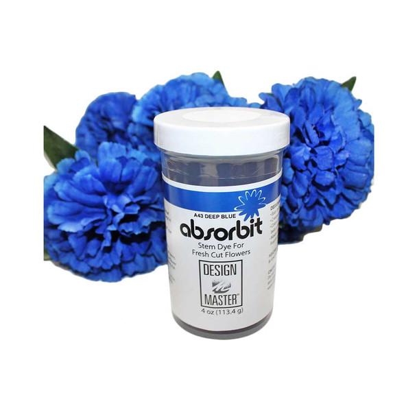Deep Blue Flower Dye Absorption Powder