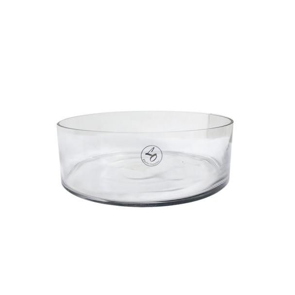 """10"""" Dish Garden Glass Cylinder Vase"""
