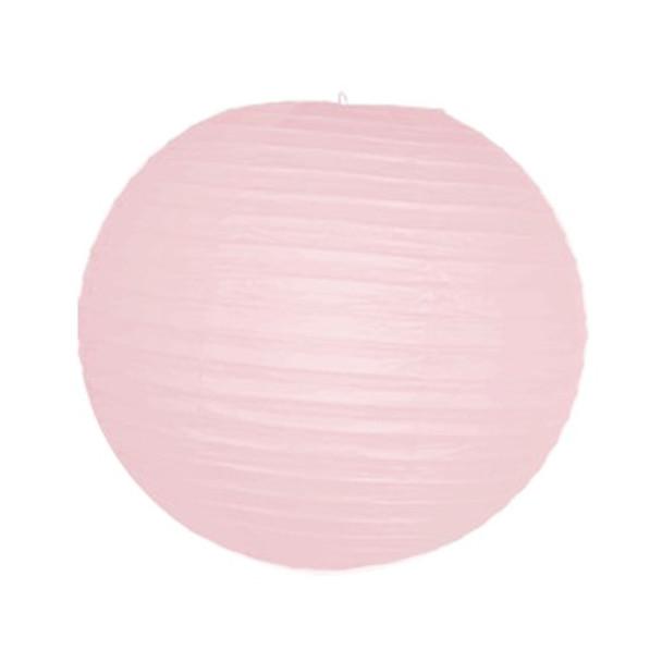 "18"" Pink Round Paper Lantern"
