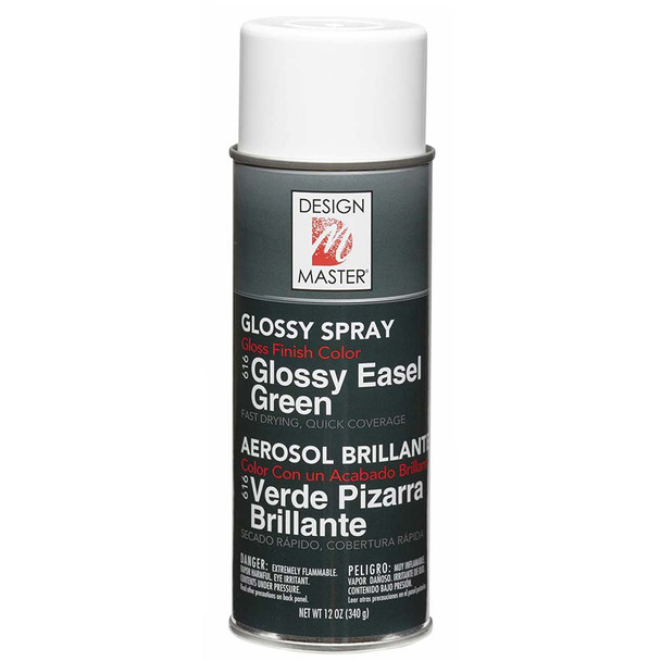 Glossy Easel Green Color Spray