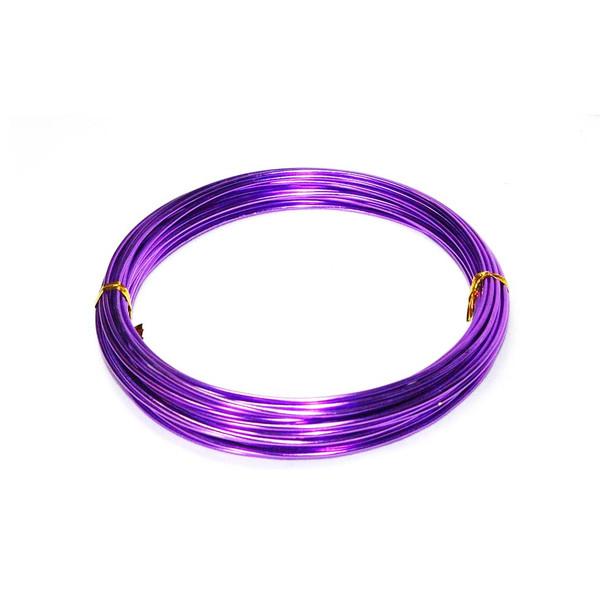 12 Gauge Purple Decorative Wire 39 Ft
