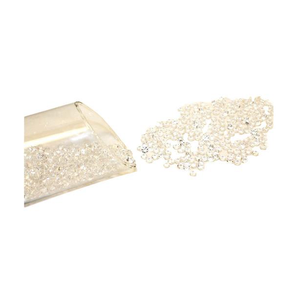 8mm Clear Flat Diamonds