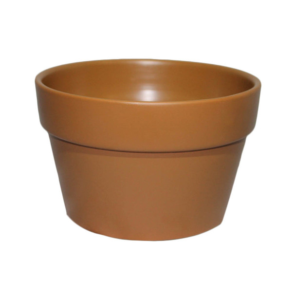 "6 1/4"" Brown Pot Planter"