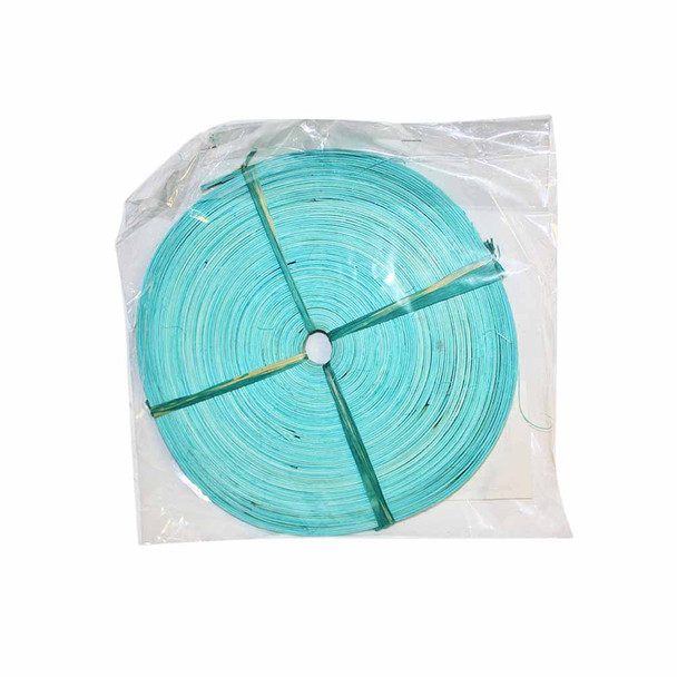 """3/8"""" Wide Turquoise Flat Cane"""