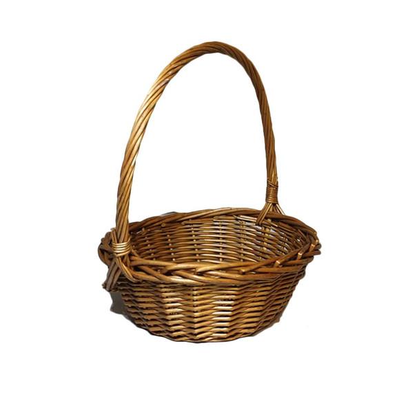 "11"" Honey Oval Basket"