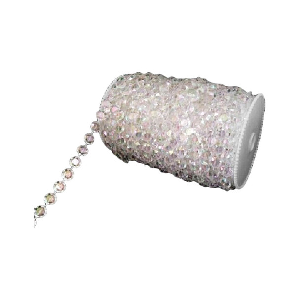 22 Yd Roll of Crystal Beads