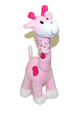 "20"" Pink Cute Giraffe"