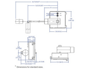 The LC10 liquid level controller is a rugged, displacer operated liquid level controller (Drawing)