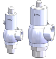 The RV10 safety relief valve is well-suited for over pressure protection of production equipment. (Animation)