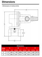 RG20 Regulator Dimensions