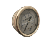 "Pressure Gauge, 0-300 PSI, 2.5"" Face, Back Mount ¼"" NPT"