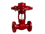 The Kimray EGP High-Pressure Control Valve is used as a dump valve or a pressure regulator.