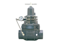 The BelGAS P5300 is a back pressure regulator with an integrally mounted pilot.