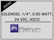 """SOLENOID, 1/4"""", 0.85 WATT, 24 VDC, ASCO"""