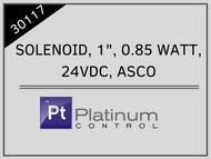 """SOLENOID, 1"""", 0.85 WATT, 24VDC, ASCO"""