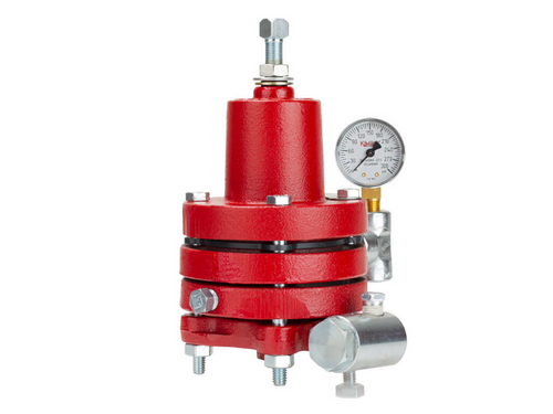 The Kimray 30 HPG-D Reg Pilot is a pressure sensing device designed to output a gas signal based on a set pressure.