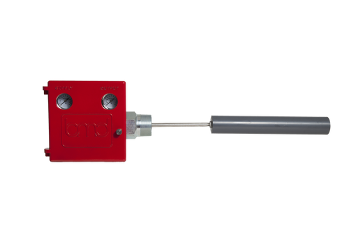 The LC10 liquid level controller is a rugged, displacer operated liquid level controller (Photo)