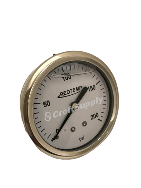 Series PG liquid-filled temperature gauges are an economical choice where ambient corrosion and vibration are of concern.