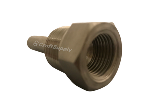 REOTEMP Threaded Thermowells make it possible to remove an instrument without dropping pressure.