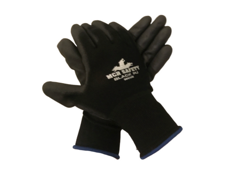 Coated Safety Gloves, Smooth Finish