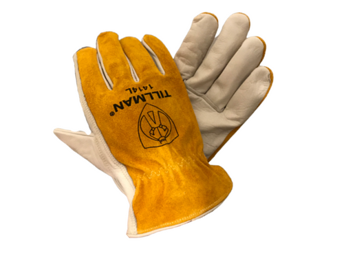 Tillman Top Grain/ Split Cowhide Drivers Gloves