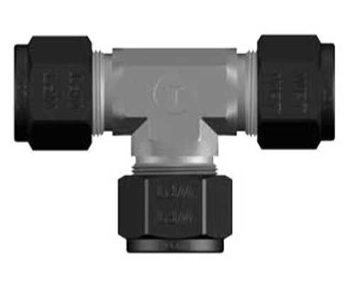 CS-Lok® Union Tee Tube Fittings are made to strict quality control standards (Picture)