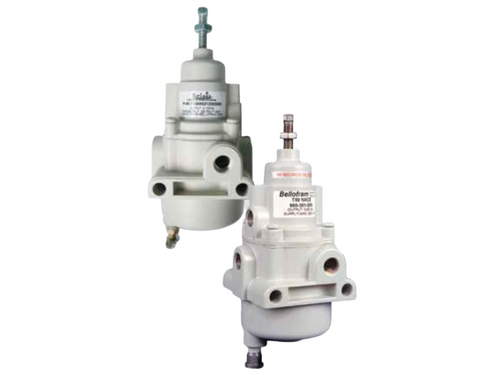 The P50 NACE regulator is available for use in corrosive environments. Pressure vs .flow, forward-to-reverse flow offset.