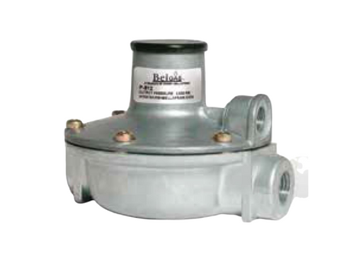 The Type P912 pressure regulator functions as a pneumatic pres-sure controlling device with an adjustable set point.