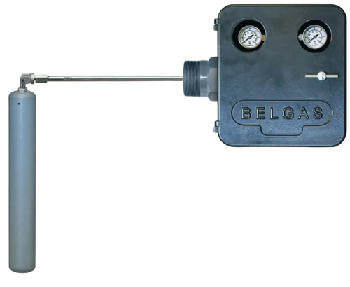 The BelGAS P8100 series is a mechanically operated liquid level controller with a flexible yet rugged design that allows optimal performance in the harshest environments.