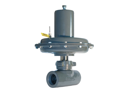 The BelGAS P7100 series valve is a pneumatically operated control valve with NACE compliant construction as standard.