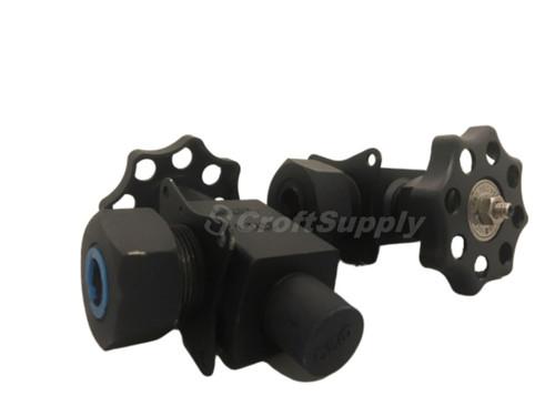 "Questtec type 1 TC, tubular gage valve, 1/2"" x 5/8"" (set) Viton packing , NACE. 600PSI @ 100F"