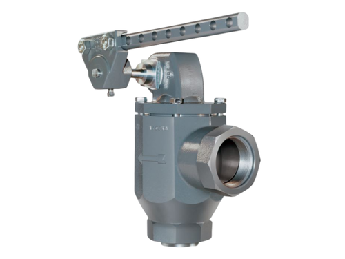 The BelGASP4000 series is a mechanically operated dump valve for use with a P8000 trunnion assembly