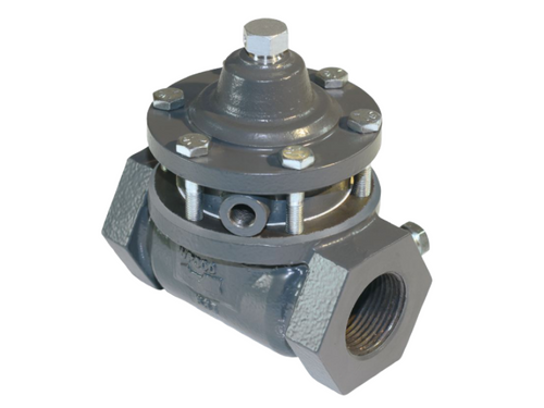 The BelGAS P4100 series is a pneumatically operated control valve