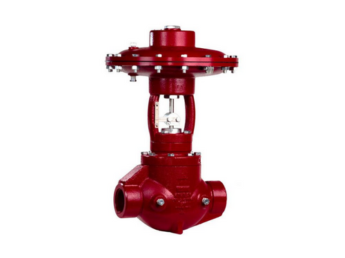 The Kimray EFG is a Cage-Guided Balanced High Pressure Control Valves can be used as Dump Valves or Pressure Regulators.