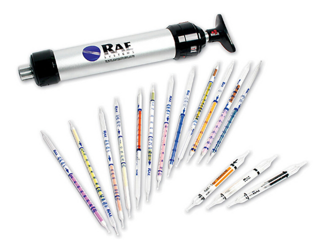 Hydrogen Sulfide Detection tubes designed for H2S detection in natural gas streams.