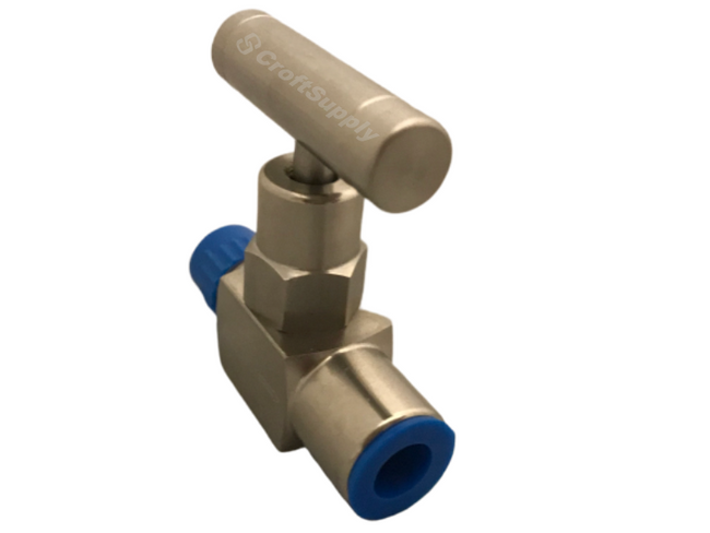 Mako high quality needle valves offer smooth torque and leak free performance at an outstanding value.