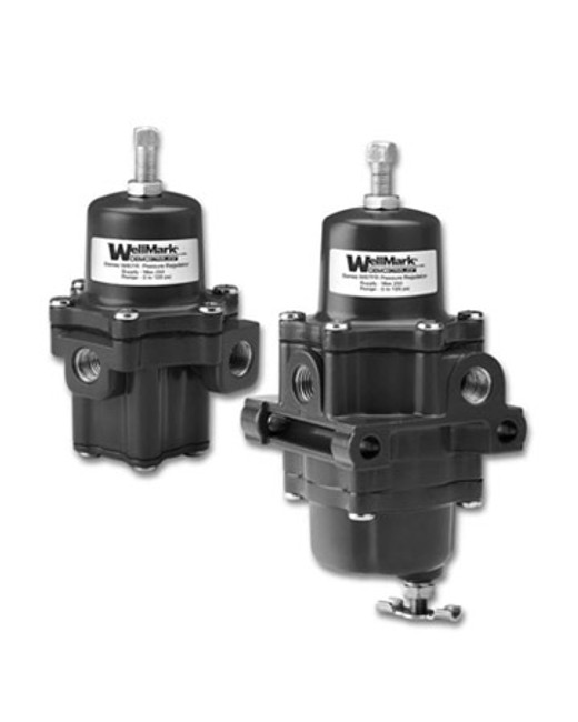 W67R regulators are standard equipment for pneumatic liquid level controls and valve positioners